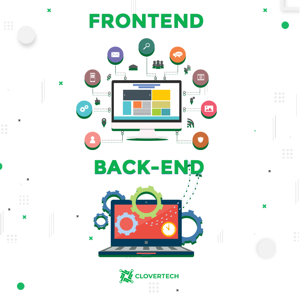The key specifics of the Full-stack development: how does it differ from the front end and back end?